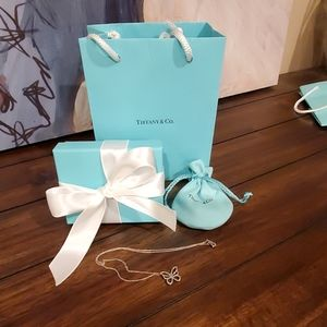 Tiffany & Co. Floating Butterfly Pendant